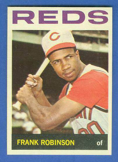 1964 Topps #260 Frank Robinson [#b] (Reds) Baseball cards value