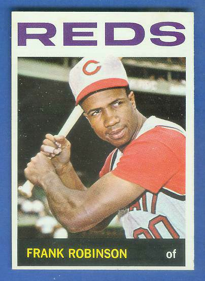 1964 Topps #260 Frank Robinson [#c] (Reds) Baseball cards value