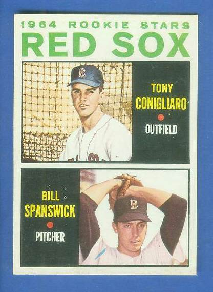 1964 Topps #287 Tony Conigliaro ROOKIE 'VAR:Blue line' [#b] Baseball cards value