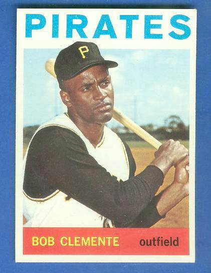 1964 Topps #440 Roberto Clemente (Pirates) Baseball cards value
