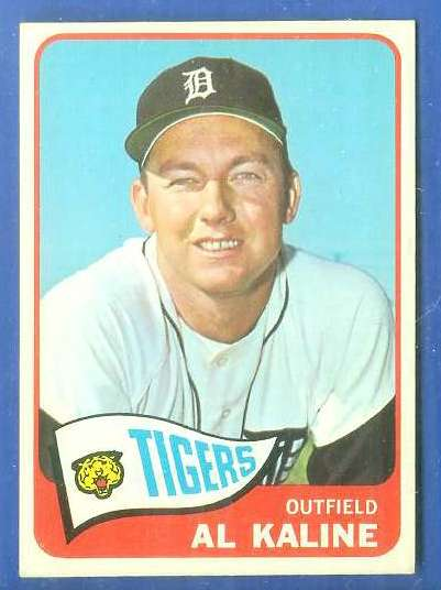 1965 Topps #130 Al Kaline [#c] (Tigers) Baseball cards value