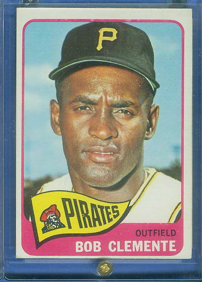 1965 Topps #160 Roberto Clemente (Pirates) Baseball cards value