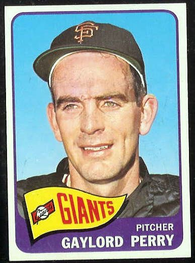 1965 Topps #193 Gaylord Perry [#b] (Giants) Baseball cards value