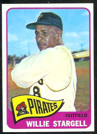 1965 Topps #377 Willie Stargell [#a] (Pirates) Baseball cards value