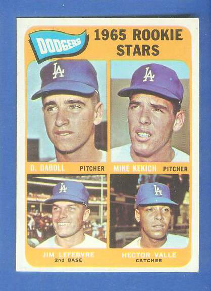 1965 Topps #561 Jim Lefebvre ROOKIE [#a] (Dodgers) Baseball cards value