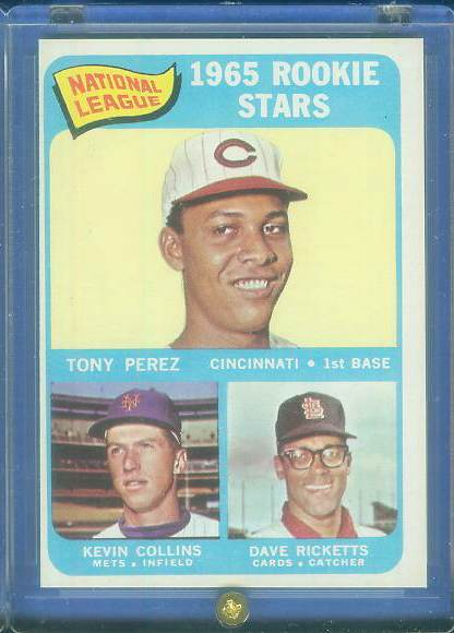 1965 Topps #581 Tony Perez SHORT PRINT ROOKIE [#a] (Reds Hall-of-Famer) Baseball cards value