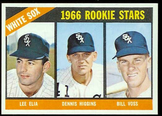1966 Topps #529 White Sox ROOKIES SCARCE HI# [#b] Baseball cards value
