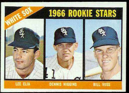 1966 Topps #529 White Sox ROOKIES SCARCE HI# [#c] Baseball cards value
