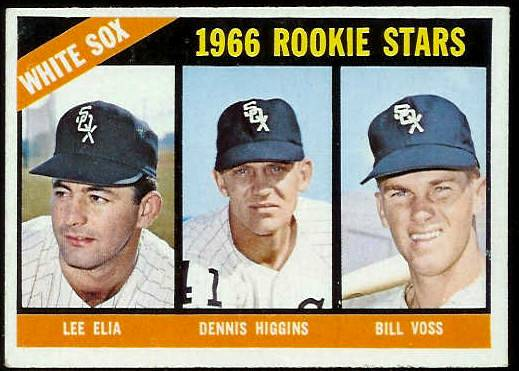 1966 Topps #529 White Sox ROOKIES SCARCE HI# [#d] Baseball cards value