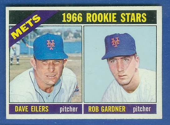 1966 Topps #534 Mets ROOKIES SCARCE HI# [#a] Baseball cards value