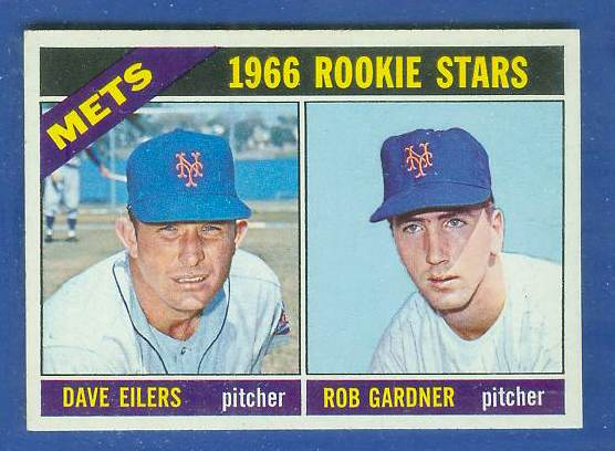 1966 Topps #534 Mets ROOKIES SCARCE HI# [#b] Baseball cards value