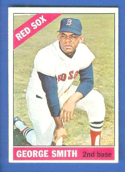 1966 Topps #542 George Smith SCARCE HI# [#b] (Red Sox) Baseball cards value