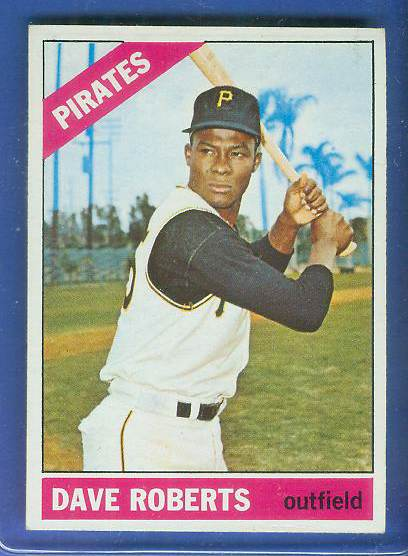 1966 Topps #571 Dave Roberts [#c] SCARCE SHORT PRINT HI# (Pirates) Baseball cards value