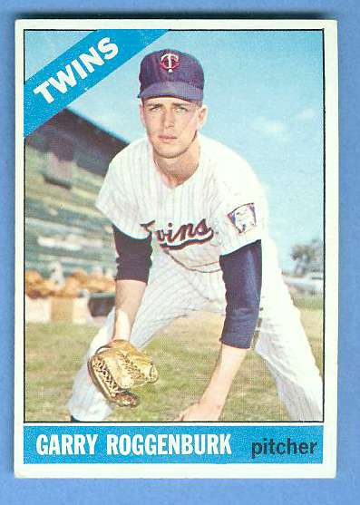 1966 Topps #582 Garry Roggenburk SCARCE HI# [#a] (Twins) Baseball cards value