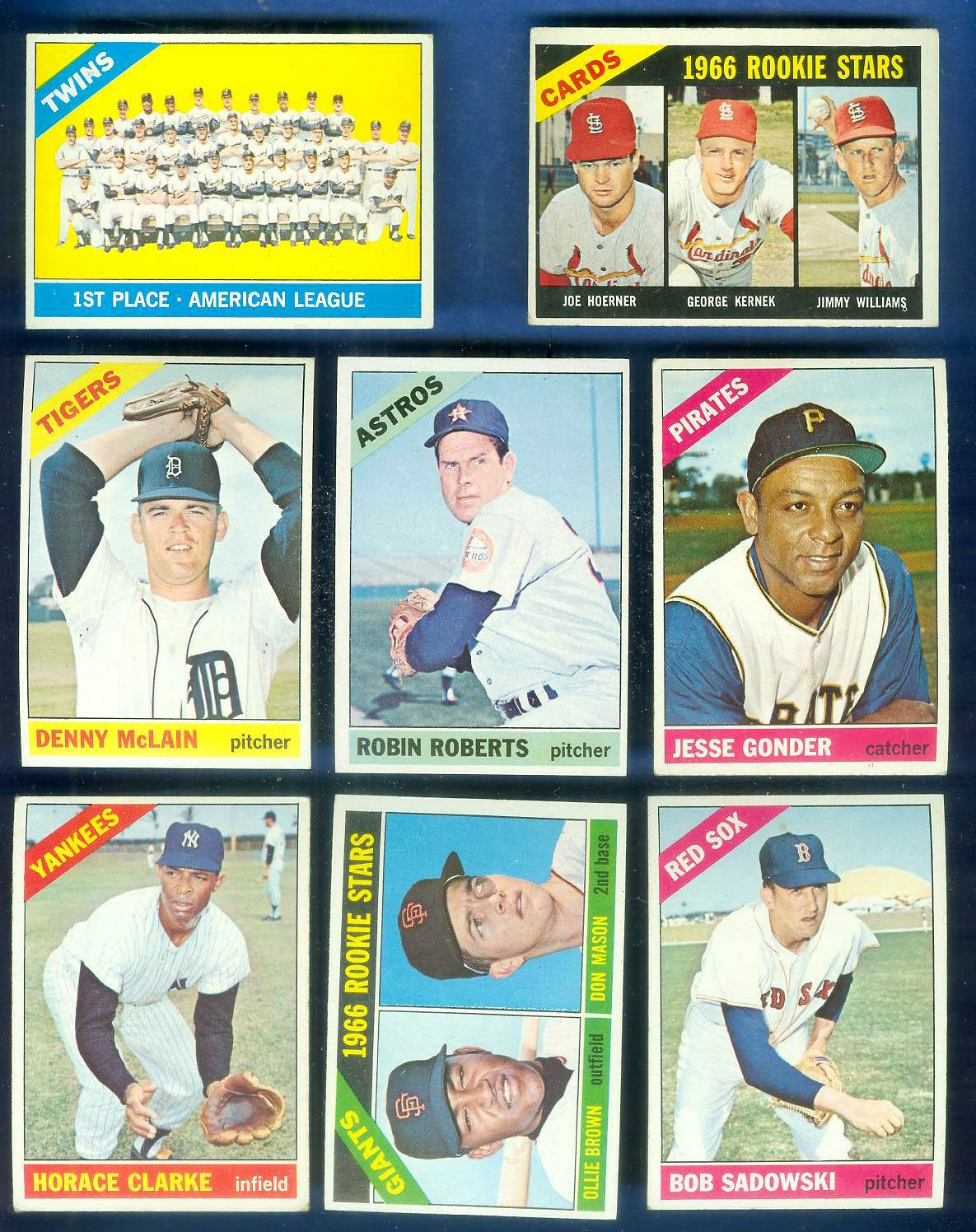 1966 Topps #524 Giants ROOKIES [#a] SCARCE SHORT PRINT HI# Baseball cards value