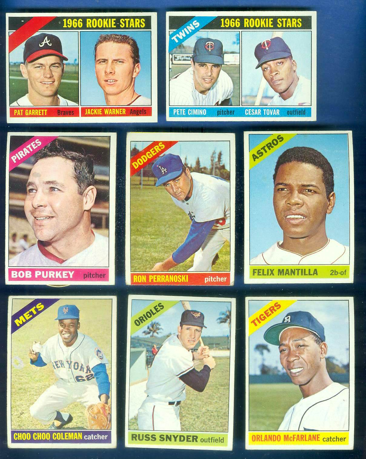 1966 Topps #557 Felix Mantilla SCARCE SHORT PRINT HI# (Astros) Baseball cards value