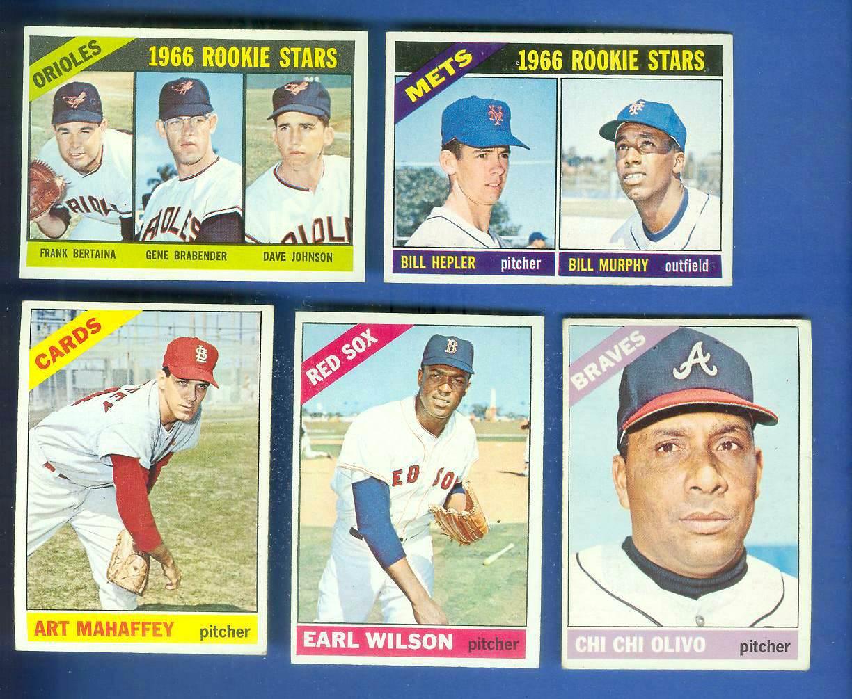 1966 Topps #575 Earl Wilson SCARCE HI# (Red Sox) Baseball cards value