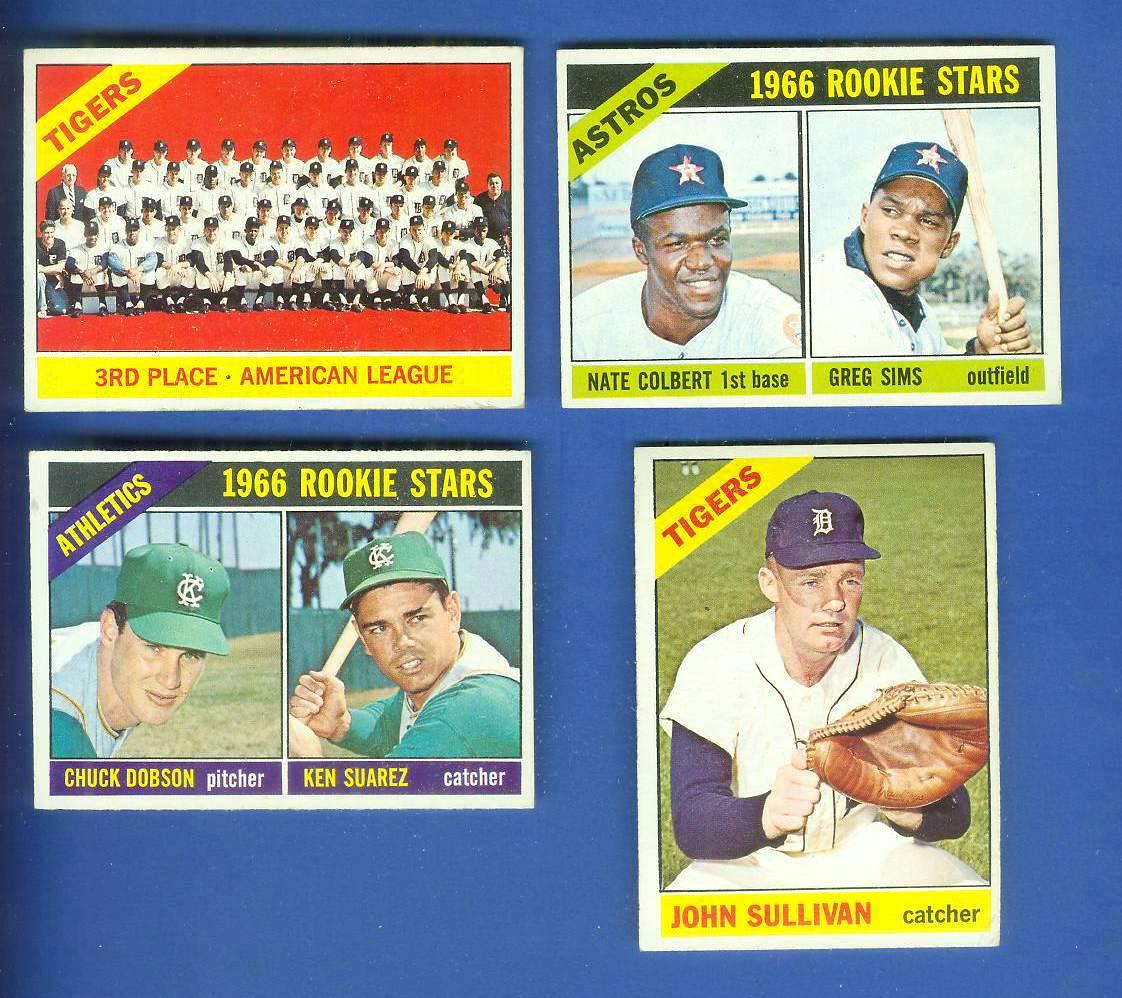 1966 Topps #583 Tigers TEAM card (SCARCE SHORT PRINT HI#) Baseball cards value