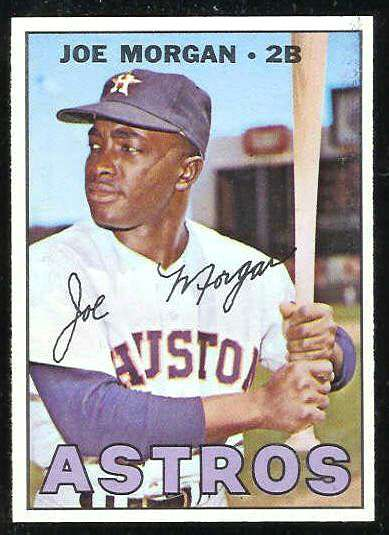 1967 Topps #337 Joe Morgan [#a] (Astros) Baseball cards value