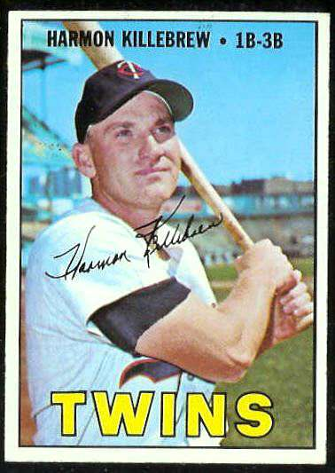 1967 Topps #460 Harmon Killebrew (Twins) Baseball cards value