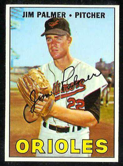 1967 Topps #475 Jim Palmer [#b] (Orioles) Baseball cards value