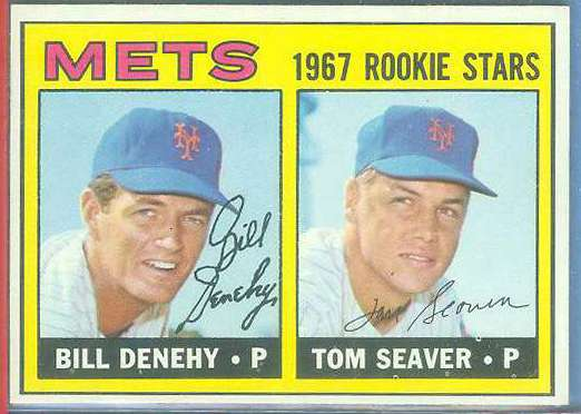 1967 Topps #581 Tom Seaver ROOKIE [#a] SCARCE SINGLE PRINT (Mets) Baseball cards value