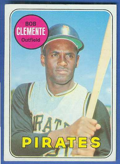1969 Topps #.50 Roberto Clemente [#a] (Pirates) Baseball cards value