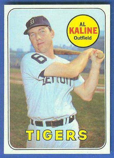 1969 Topps #410 Al Kaline [#a] (Tigers) Baseball cards value