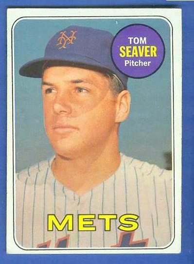 1969 Topps #480 Tom Seaver (Mets) Baseball cards value
