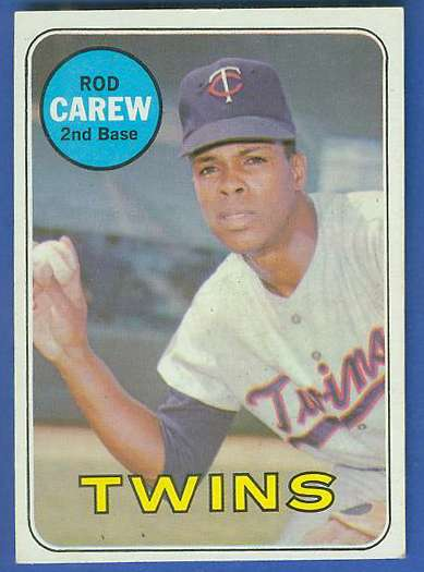 1969 Topps #510 Rod Carew [#a] (Twins) Baseball cards value