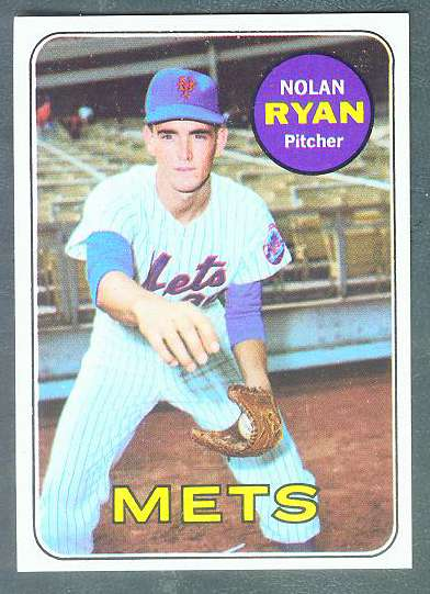 1969 Topps #533 Nolan Ryan [#a] (Mets) Baseball cards value