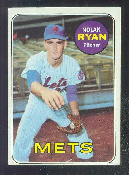 1969 Topps #533 Nolan Ryan [#b] (Mets) Baseball cards value