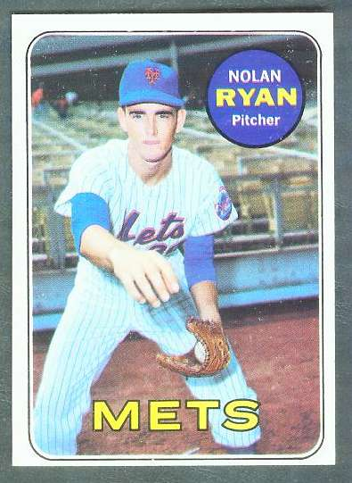 1969 Topps #533 Nolan Ryan [#c] (Mets) Baseball cards value