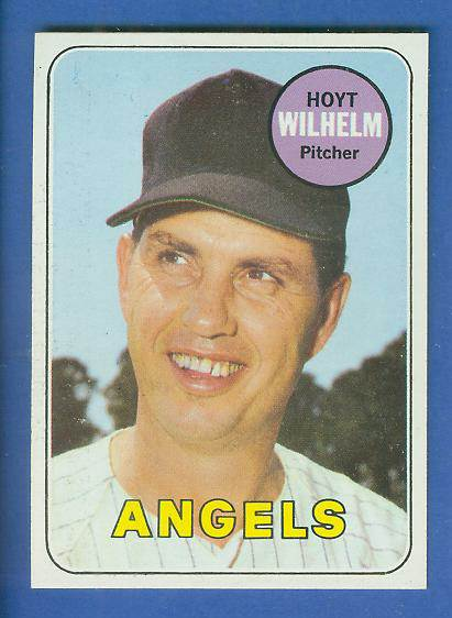 1969 Topps #565 Hoyt Wilhelm [#a] (Angels) Baseball cards value