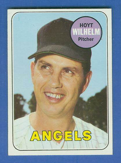 1969 Topps #565 Hoyt Wilhelm [#b] (Angels) Baseball cards value