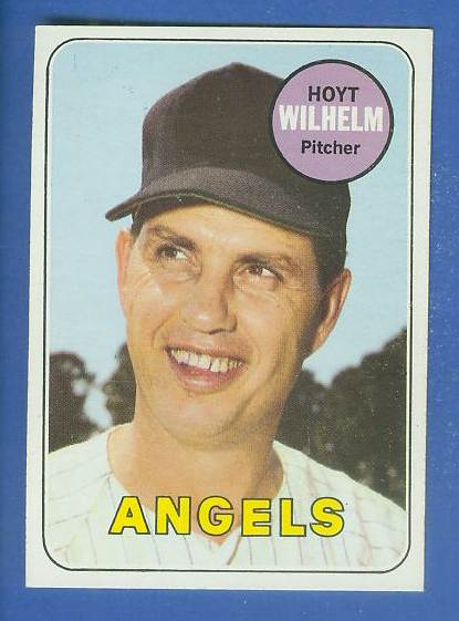 1969 Topps #565 Hoyt Wilhelm [#d] (Angels) Baseball cards value