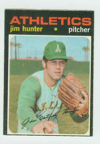 1971 O-Pee-Chee/OPC #.45 Jim Hunter [#b] (A's) Baseball cards value