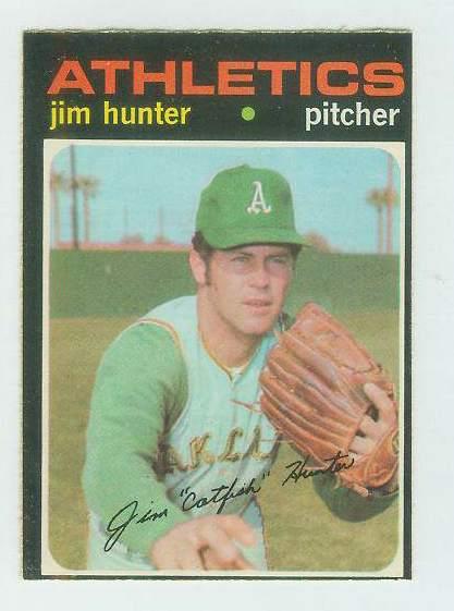 1971 O-Pee-Chee/OPC #.45 Jim Hunter [#c] (A's) Baseball cards value