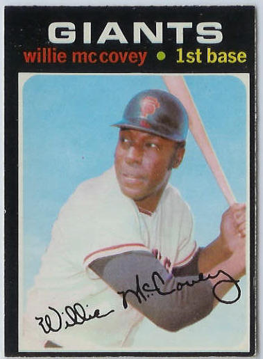1971 O-Pee-Chee/OPC #.50 Willie McCovey [#a] (Giants) Baseball cards value