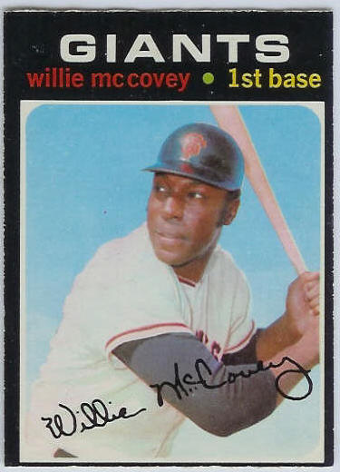1971 O-Pee-Chee/OPC #.50 Willie McCovey [#b] (Giants) Baseball cards value