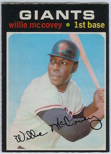1971 O-Pee-Chee/OPC #.50 Willie McCovey [#c] (Giants) Baseball cards value