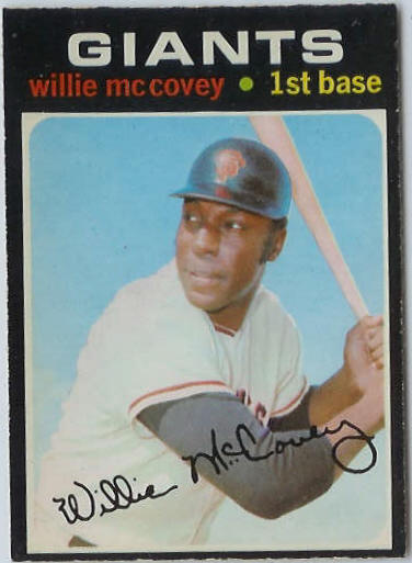 1971 O-Pee-Chee/OPC #.50 Willie McCovey [#d] (Giants) Baseball cards value