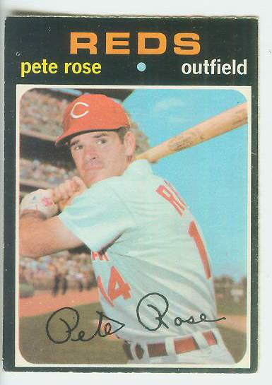 1971 O-Pee-Chee/OPC #100 Pete Rose (Reds) Baseball cards value