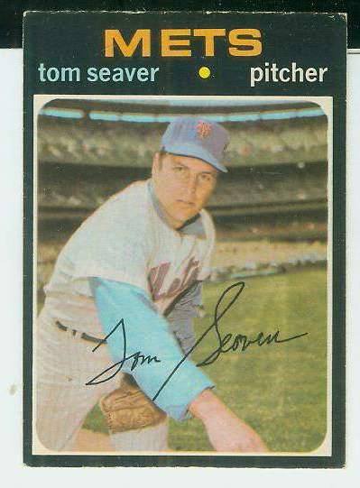 1971 O-Pee-Chee/OPC #160 Tom Seaver [#a] (Mets) Baseball cards value