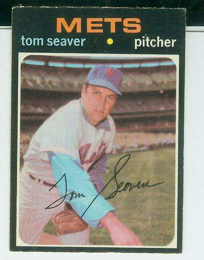 1971 O-Pee-Chee/OPC #160 Tom Seaver [#b] (Mets) Baseball cards value