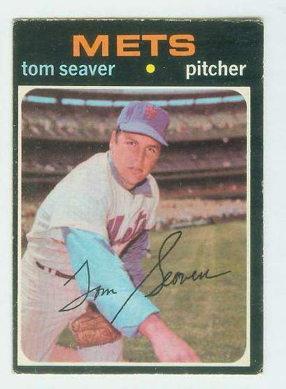 1971 O-Pee-Chee/OPC #160 Tom Seaver [#d] (Mets) Baseball cards value