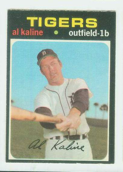 1971 O-Pee-Chee/OPC #180 Al Kaline [#c] (Tigers) Baseball cards value
