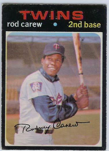 1971 O-Pee-Chee/OPC #210 Rod Carew [#b] (Twins) Baseball cards value