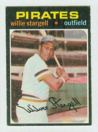 1971 O-Pee-Chee/OPC #230 Willie Stargell [#b] (Pirates) Baseball cards value