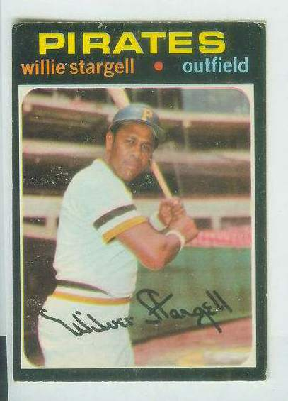 1971 O-Pee-Chee/OPC #230 Willie Stargell [#c] (Pirates) Baseball cards value